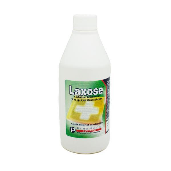 laxose lactulose solution 500 ml | inish pharmacy | ireland, Skeleton