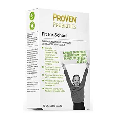 Proven Probiotics Fit For School 30 Pack Inish Pharmacy